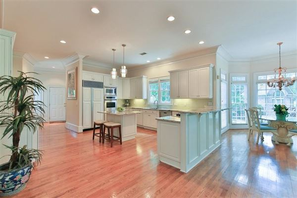 Beautiful renovation on handsome golf course estate luxury real estate