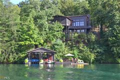 Luxury properties Adirondack style renovation on lake burton