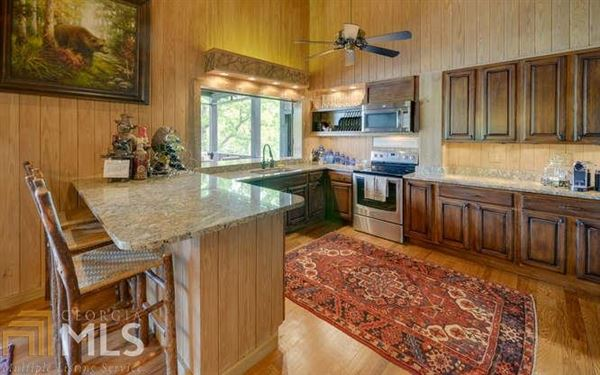 Adirondack style renovation on lake burton luxury properties