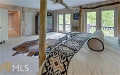Adirondack style renovation on lake burton mansions