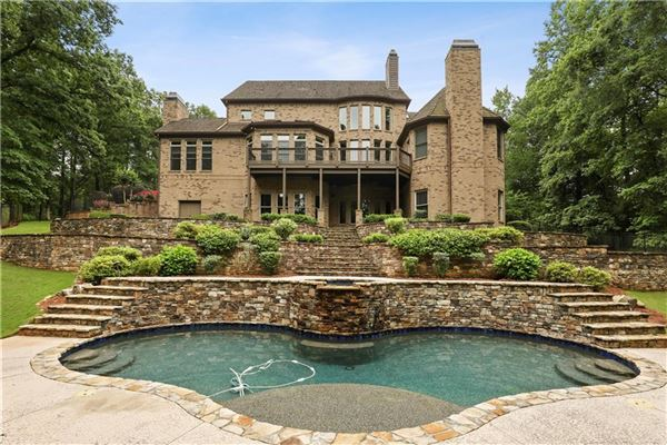 traditional home on three-plus acres in woodhaven bend luxury homes