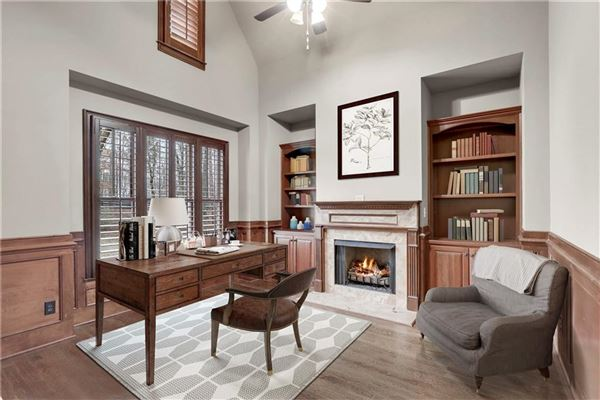 traditional home on three-plus acres in woodhaven bend mansions
