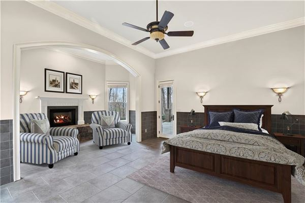 Luxury homes in traditional home on three-plus acres in woodhaven bend