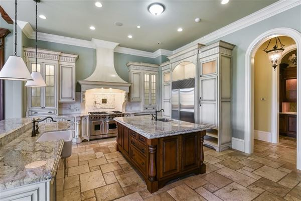 Luxury real estate magnificent French chateau inspired estate