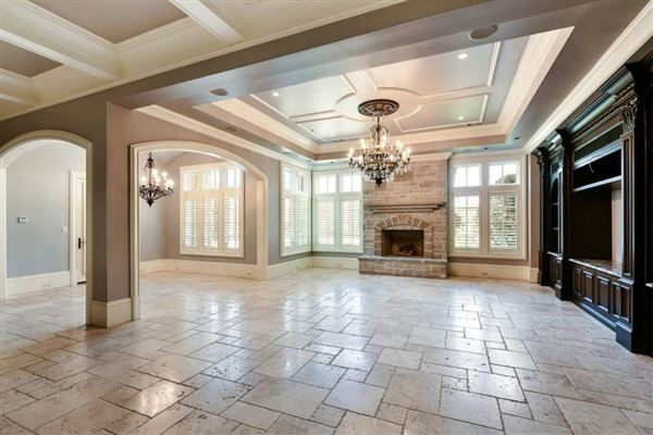Luxury properties magnificent French chateau inspired estate
