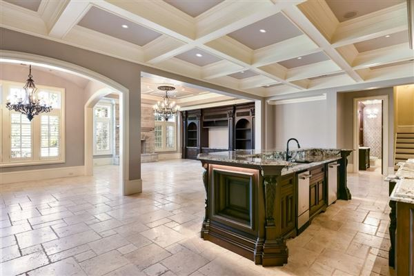 Luxury homes in magnificent French chateau inspired estate