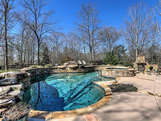 Magnificent five-acre gated estate luxury real estate