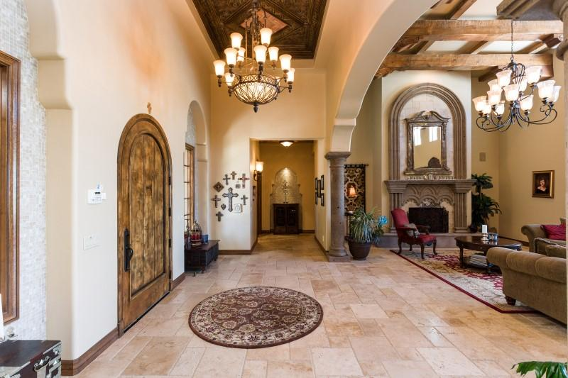 Luxury real estate truly one-of-a-kind gated estate