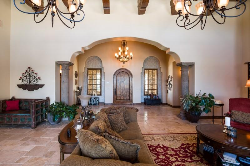Luxury homes in truly one-of-a-kind gated estate
