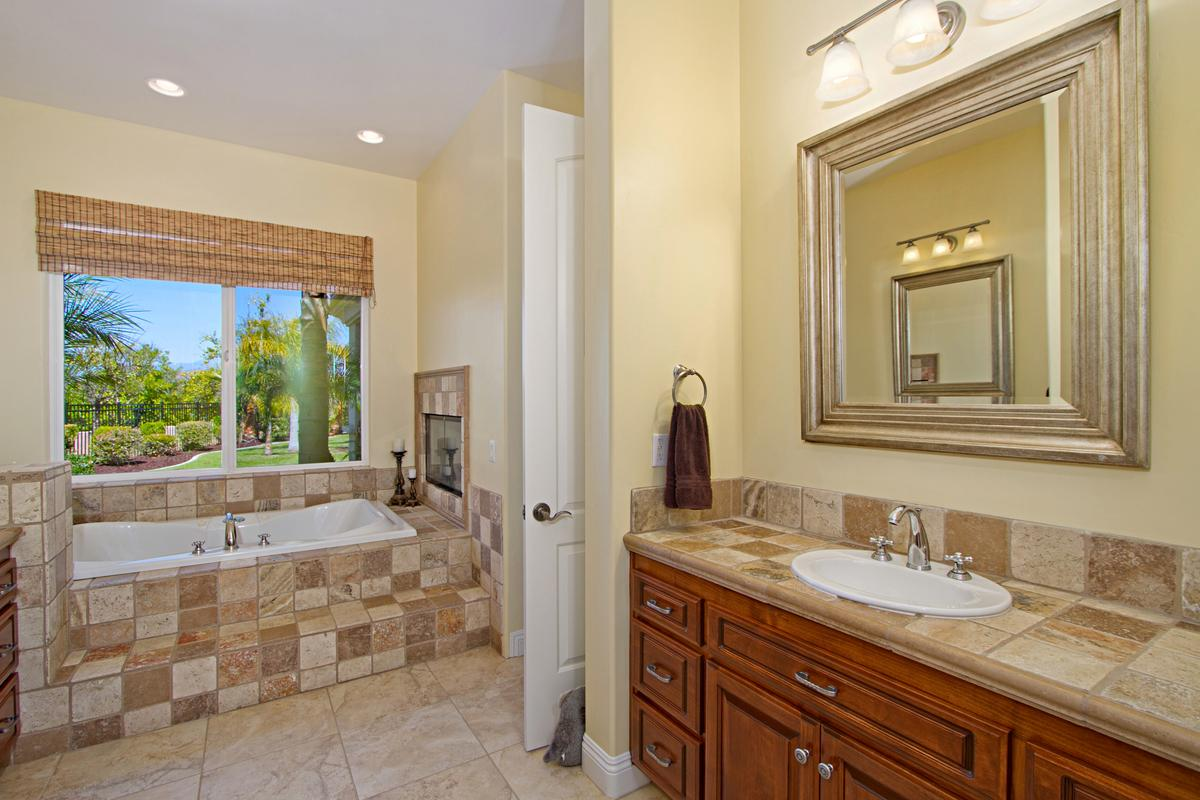 Tuscany Style home in temecula mansions