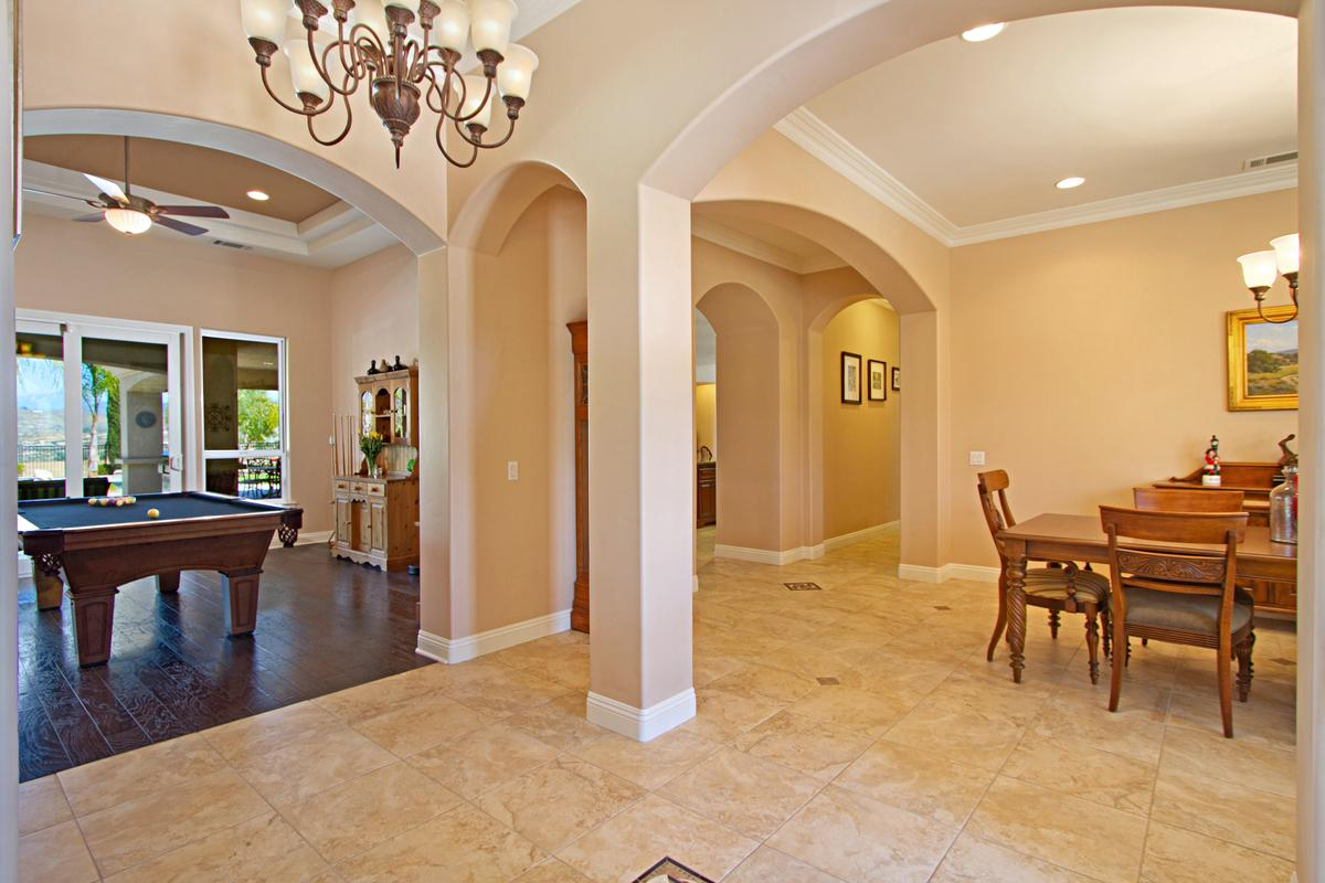 Tuscany Style home in temecula luxury real estate