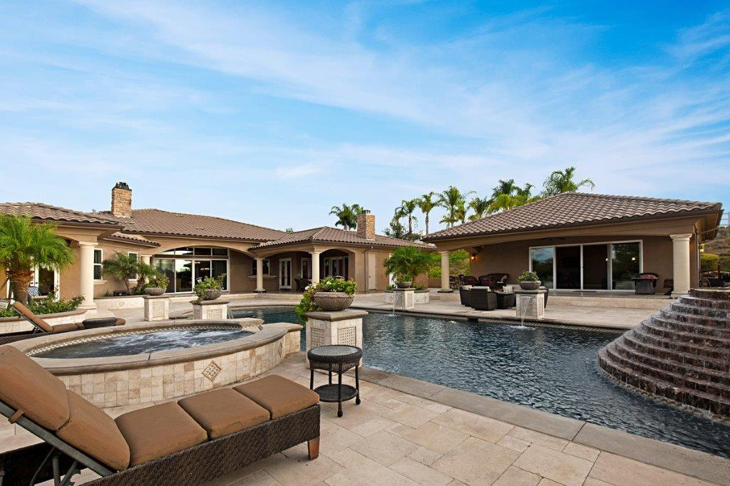Santiago Estate Home luxury homes