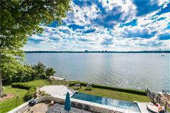Luxury homes in completely renovated waterfront home with breathtaking views
