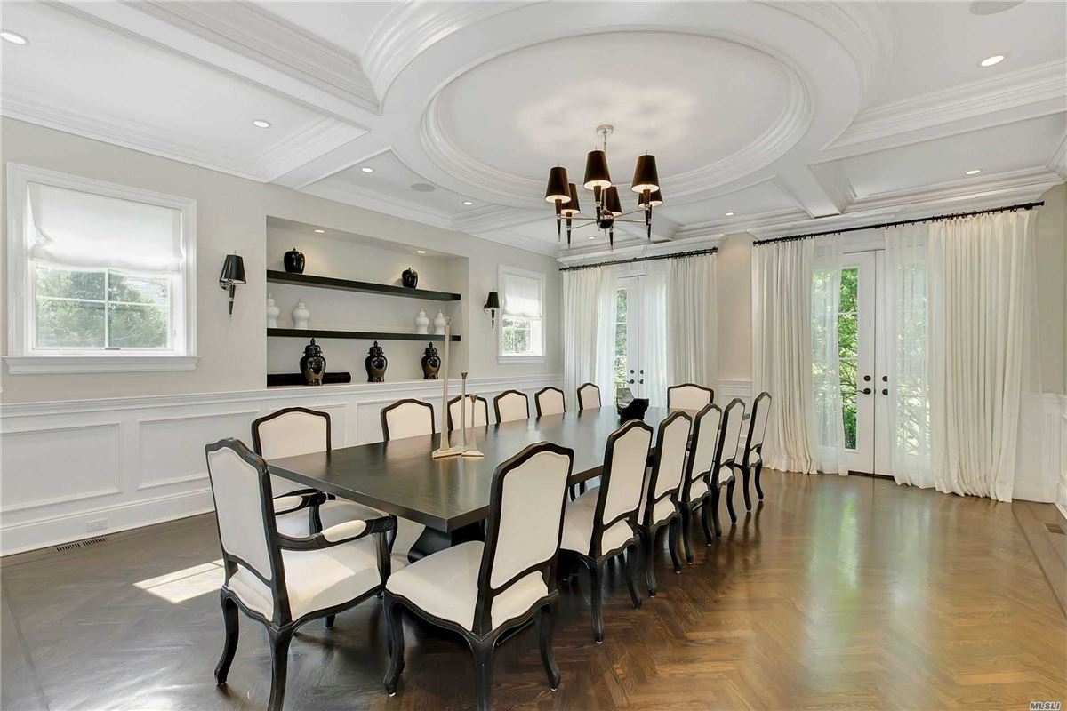 elegant and timeless all brick center hall colonial luxury properties