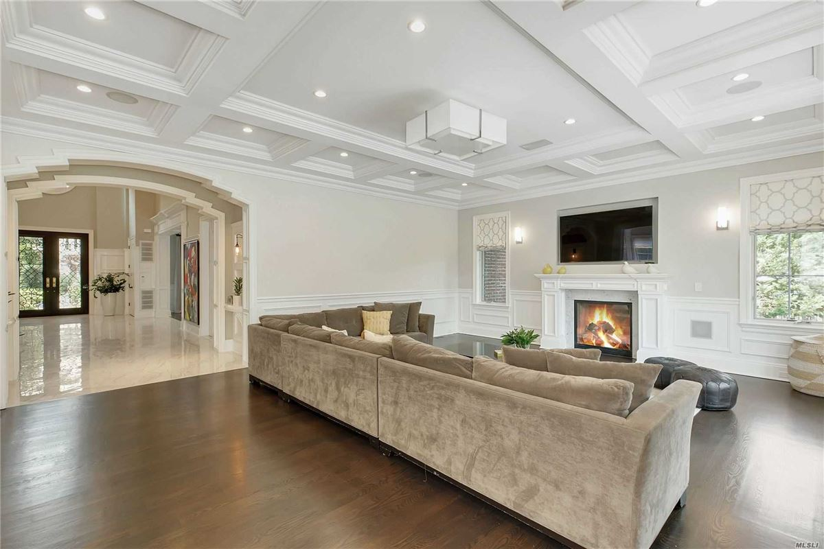 Mansions in elegant and timeless all brick center hall colonial