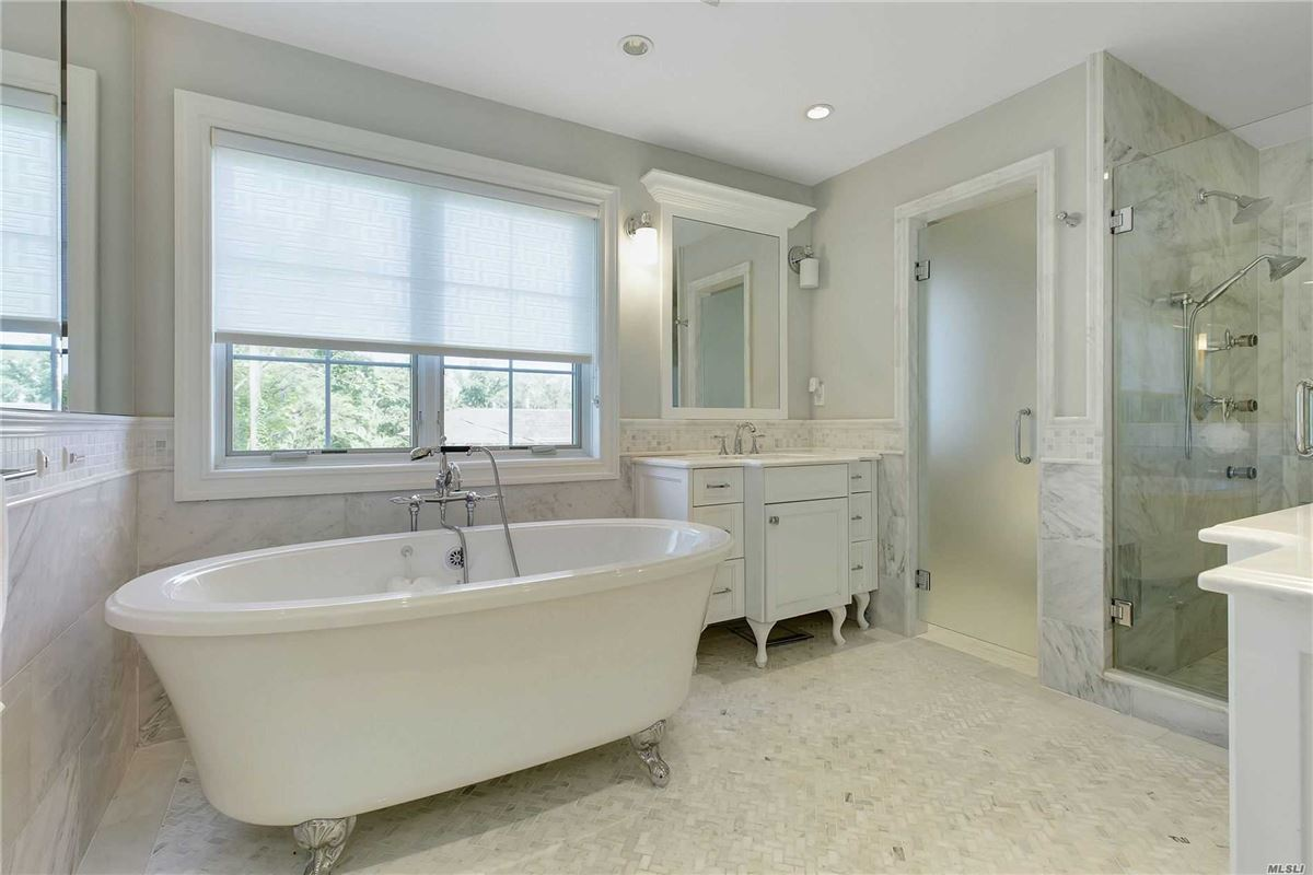 elegant and timeless all brick center hall colonial luxury homes