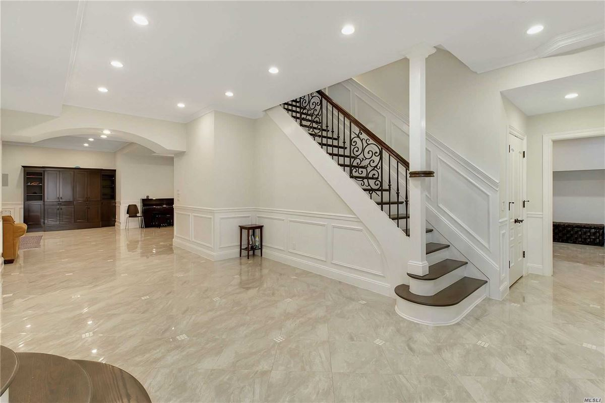 Mansions elegant and timeless all brick center hall colonial