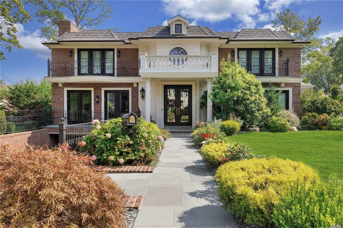 Luxury homes elegant and timeless all brick center hall colonial