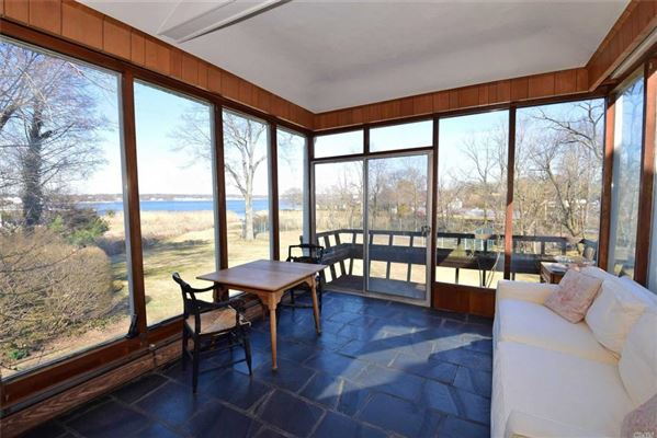 Luxury properties Waterfront contemporary with open Manhasset Bay views
