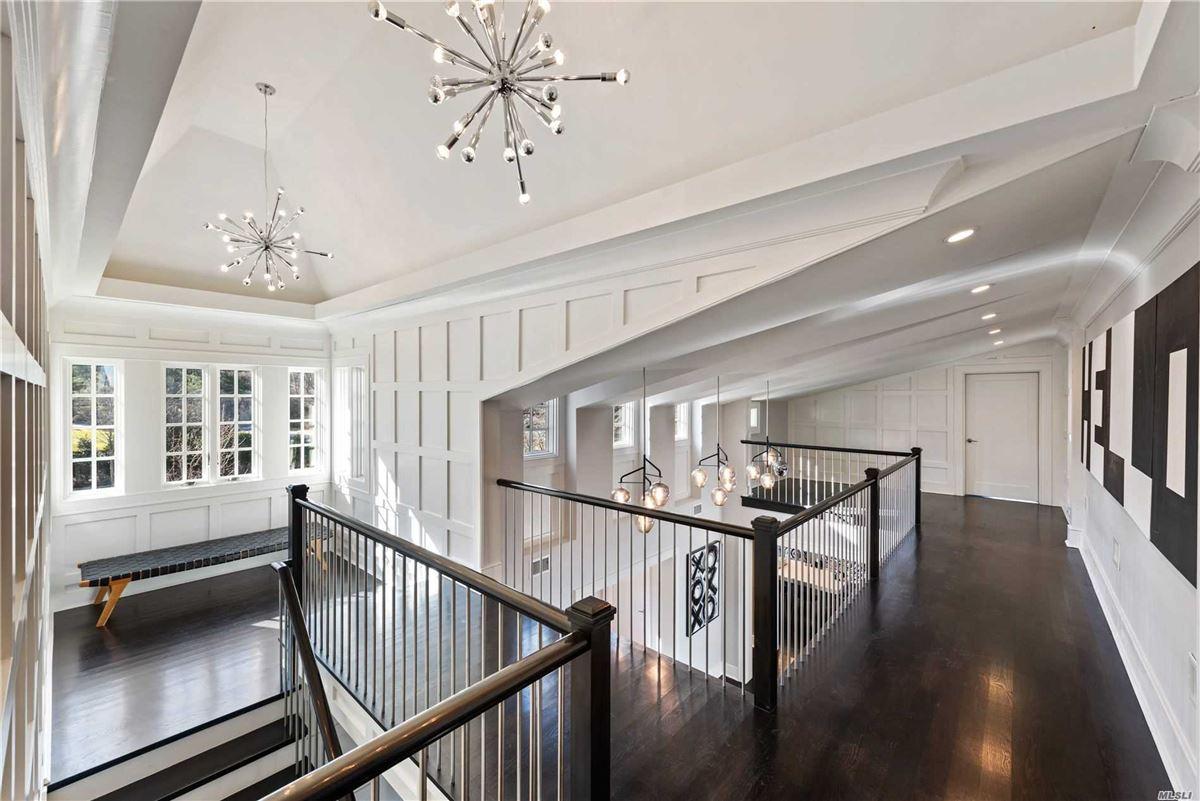 Newly rebuilt Hampton style waterfront home luxury properties