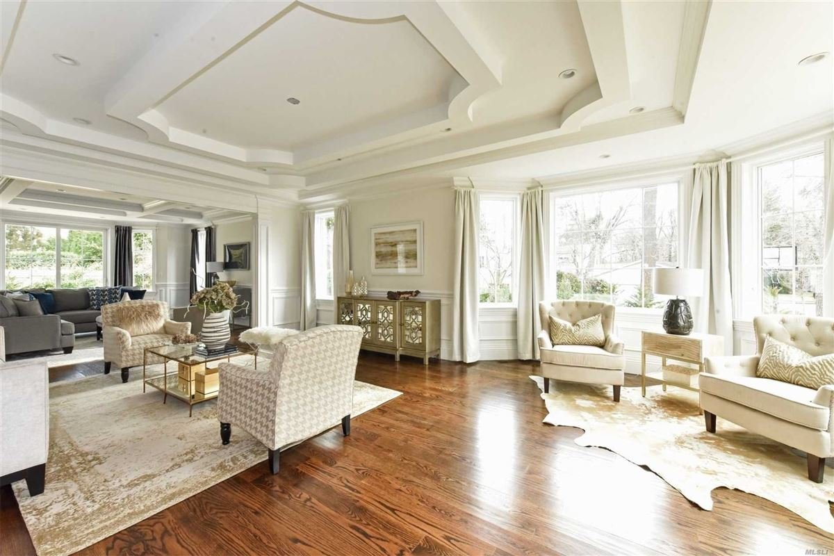 Exquisite New Country Club Home luxury real estate