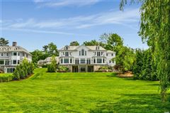 newly designed colonial overlooking Manhasset Bay luxury properties