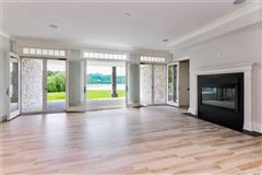 newly designed colonial overlooking Manhasset Bay luxury real estate