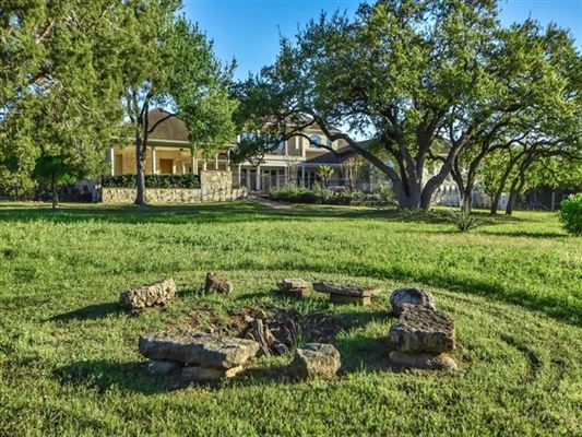 Luxury real estate hill country neoclassical home