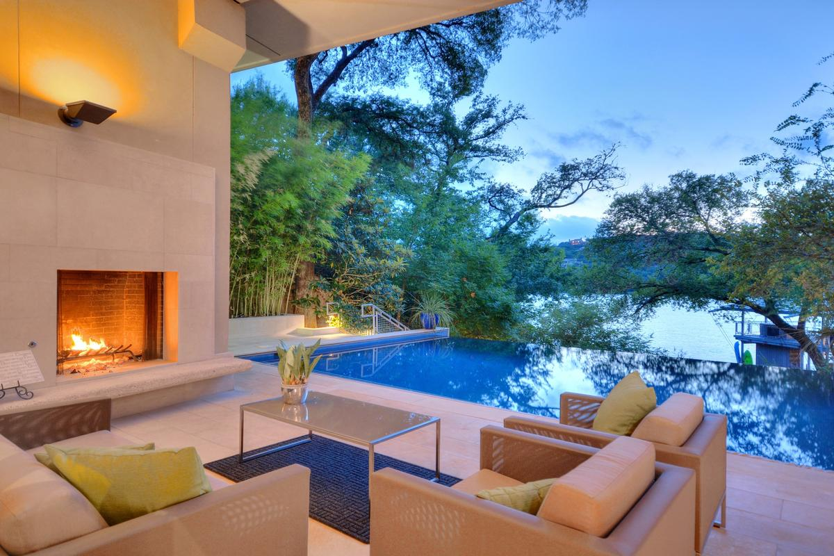Stunning Waterfront Home Texas Luxury Homes Mansions