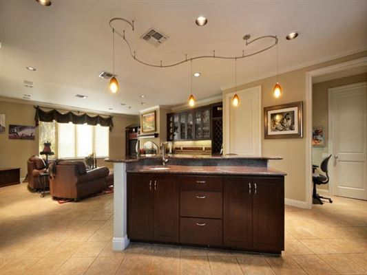 Mansions Impressivecustom home on a prominent corner lot