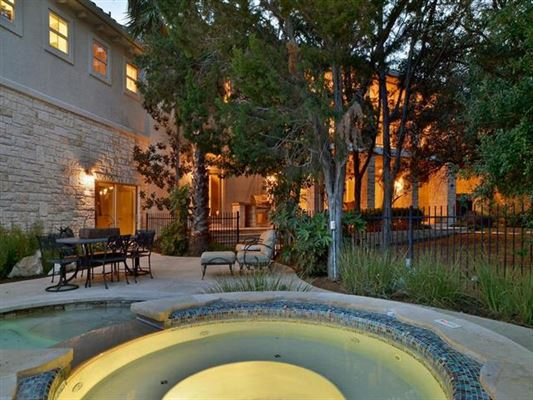 Impressivecustom home on a prominent corner lot  luxury real estate