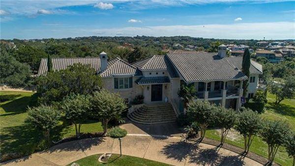 Impressivecustom home on a prominent corner lot  luxury properties