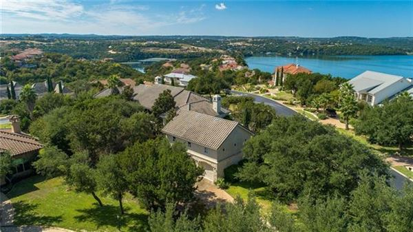 Impressivecustom home on a prominent corner lot  mansions