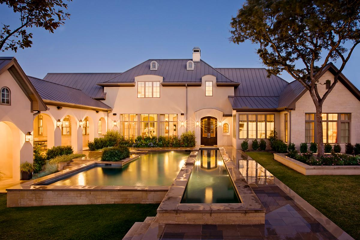 Luxury Mansions: FRENCH COUNTRY MANOR IN AUSTIN