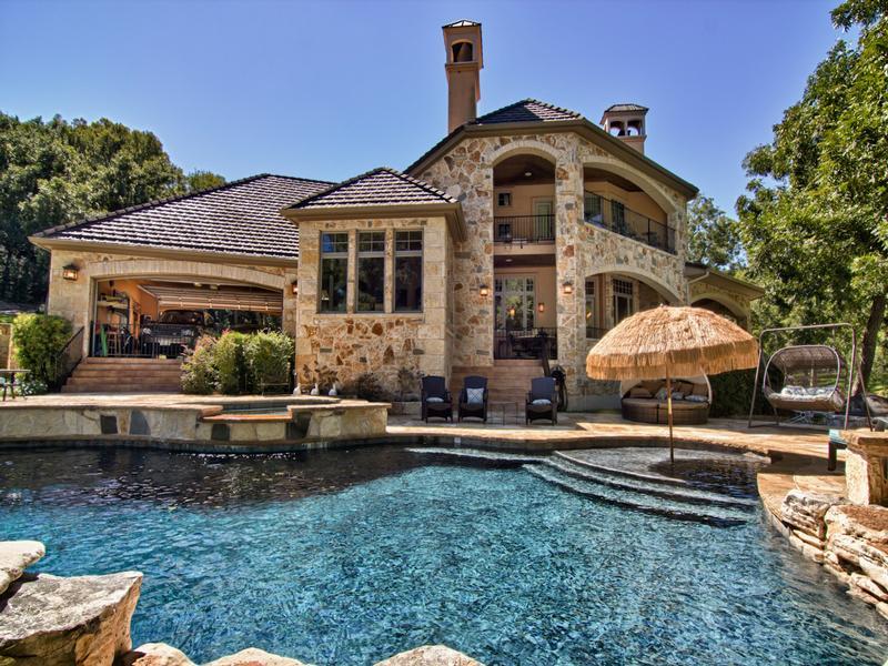 9 Acre Private Lake Austin Estate Texas Luxury Homes