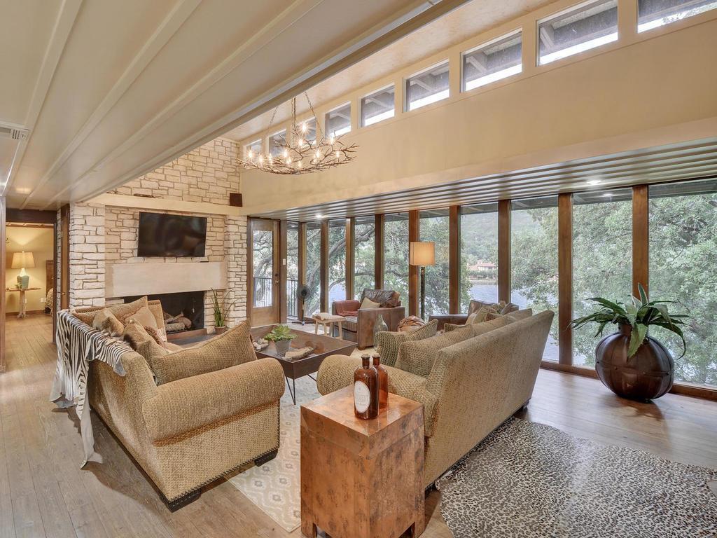 Luxury real estate iconic Lake Austin waterfront