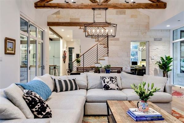 Luxury properties Modern farmhouse retreat