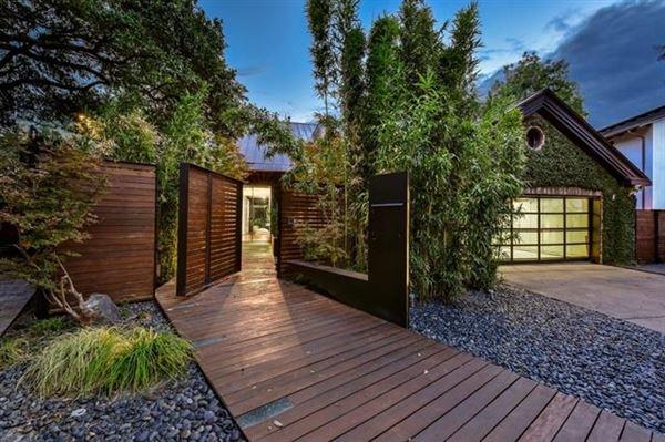 Luxury homes extensive remodel in a Zen-like lakeside setting