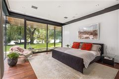 Mansions extensive remodel in a Zen-like lakeside setting
