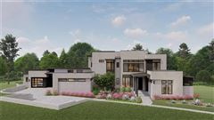 new contemporary in gated Scenic View mansions