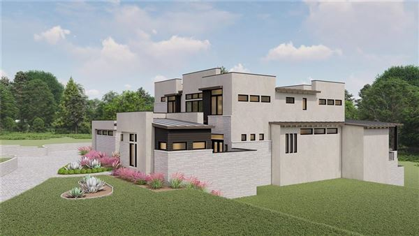 Luxury properties new contemporary in gated Scenic View