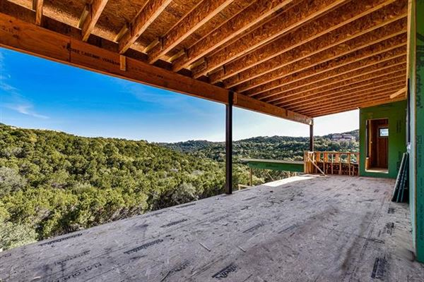 new contemporary in gated Scenic View luxury real estate
