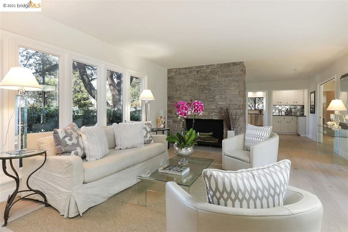 Nestled into the Upper Rockridge hills luxury homes