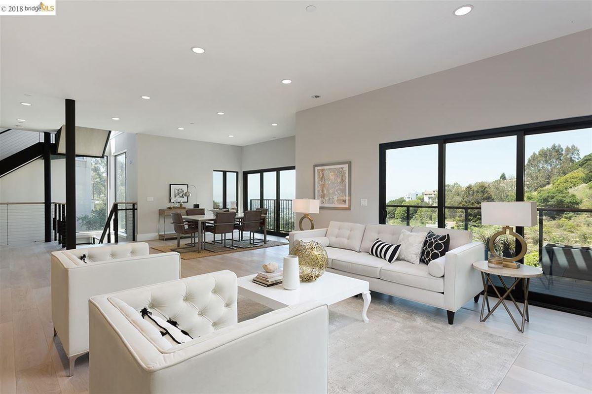 Stunning ultra-modern new construction house luxury properties