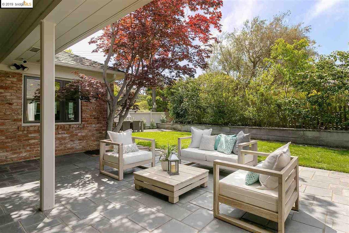 beautifully renovated single-level home luxury properties