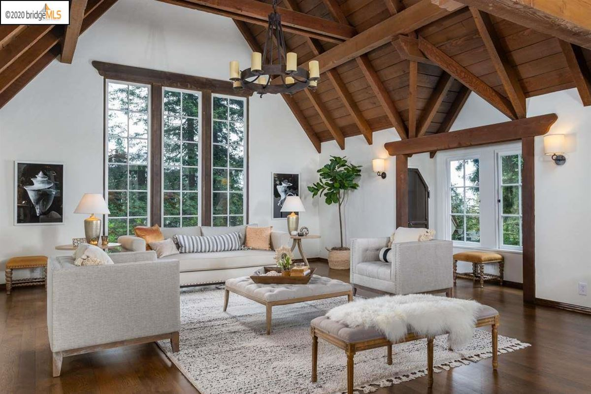 Luxury homes thoughtfully renovated Piedmont residence