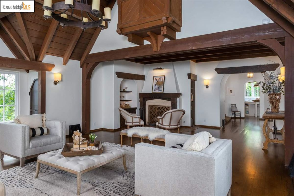 Luxury real estate thoughtfully renovated Piedmont residence