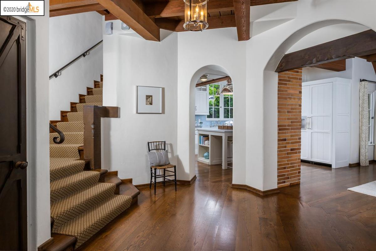 Luxury properties thoughtfully renovated Piedmont residence