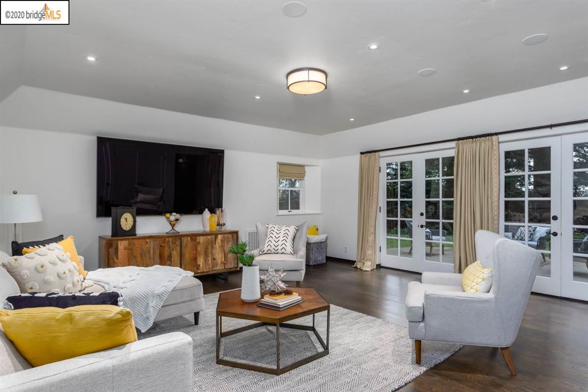 Luxury homes in thoughtfully renovated Piedmont residence