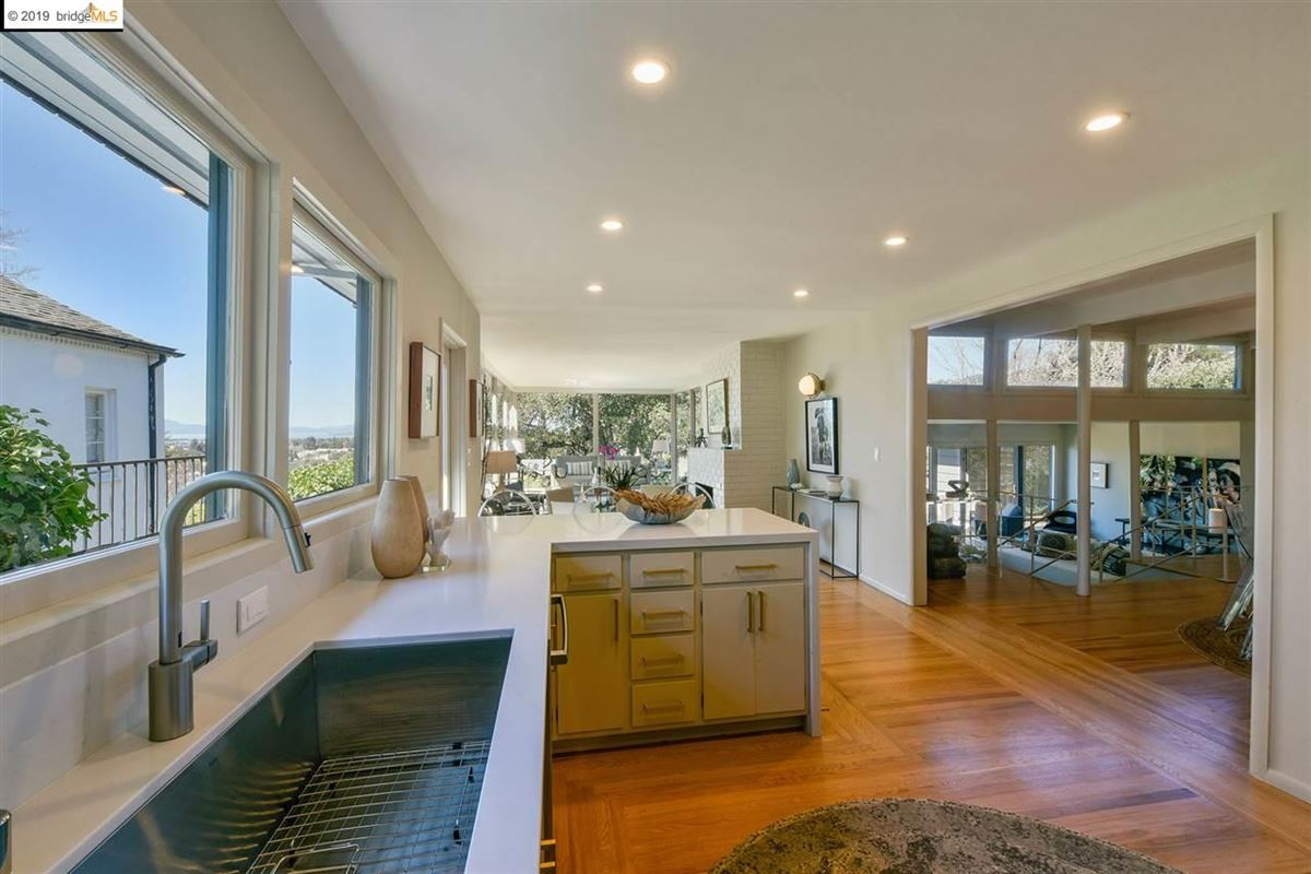 highly stylized, Mid-Century Modern luxury properties